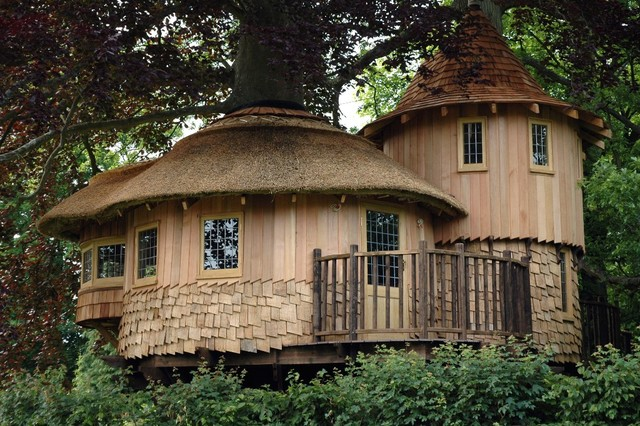 Fairy Tale Castle Treehouse