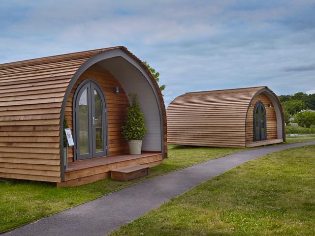 Garden Hideouts Luxe Pod Contemporary Garden Shed And Building