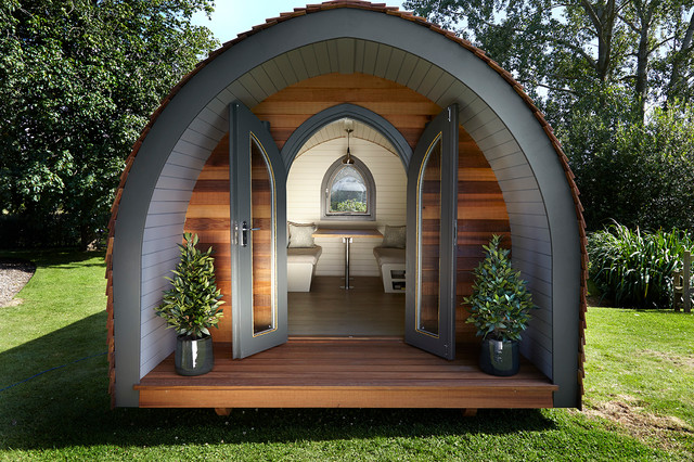 Garden Hideouts Retreat Pod Eclectic Garden Shed and Building
