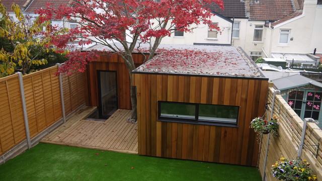 Garden office contemporary garden shed and building for Contemporary garden office buildings