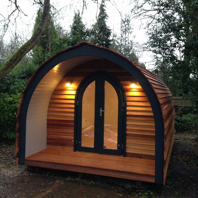 Garden Pods Contemporary Garden Shed And Building