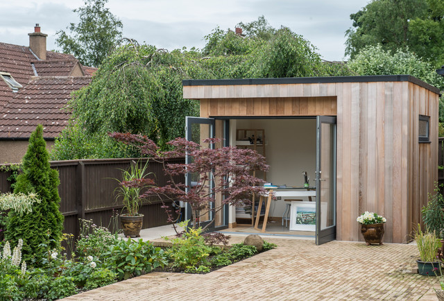 Garden Room Art Studio Contemporary Garden Shed and Building