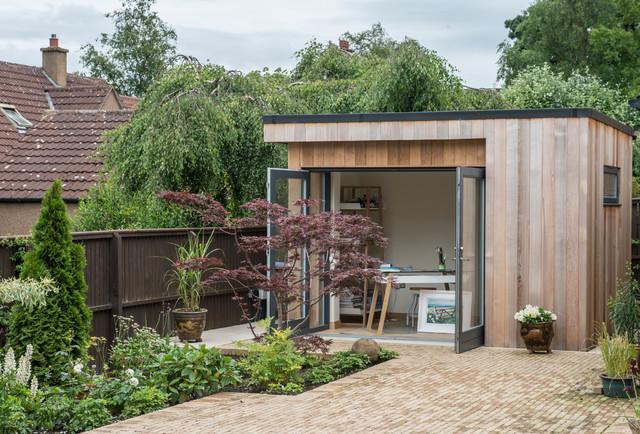 Garden Room Art Studio , Contemporary , Garden Shed and