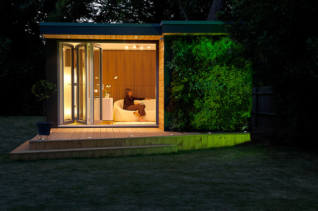 Garden room in kent contemporary outdoor products for Modern garden rooms london