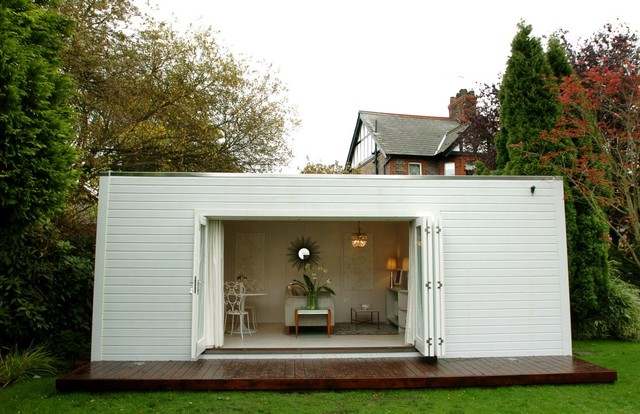 Garden room eclectic garden shed and building for Garden rooms cheshire