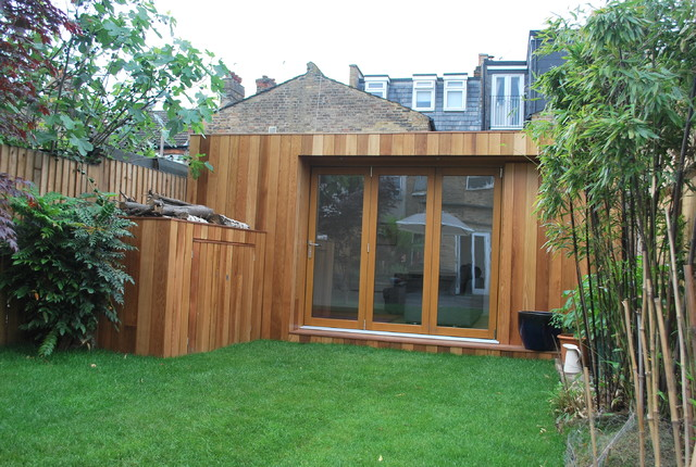 Garden room wandsworth contemporary garden shed and for Garden rooms uk