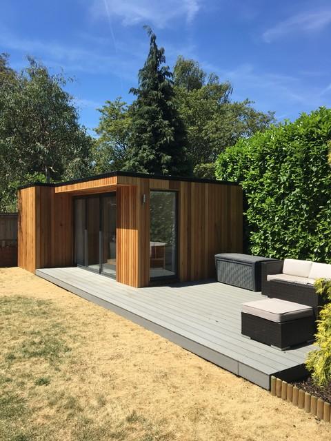 Modern Garden Room Office, Modern Garden Sheds