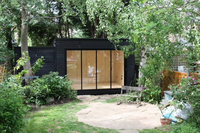 Outdoor Shed Office Amazing Wooden Corner Summerhouse House