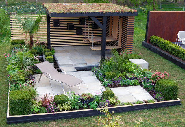 Office box RHS Cardiff 2015 Contemporary Garden Shed and