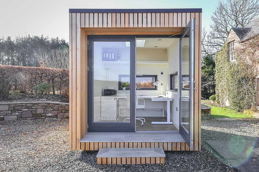 Office Pod Contemporary Shed Other By Jml Garden Rooms