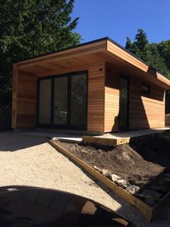Oxfordshire Garden Studio - Contemporary - Garden Shed and Building - Other - by eDEN Garden Rooms