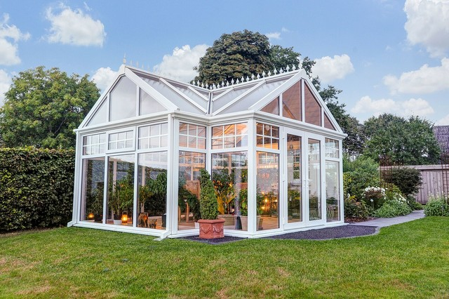 Oxfordshire orangery for Traditional garden buildings