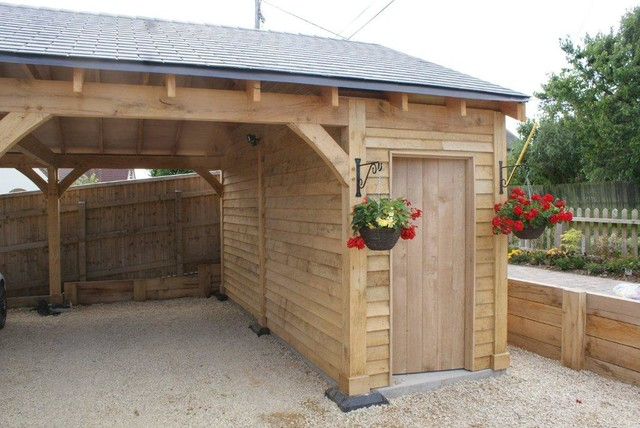 Shaftsbury traditional-garage-and-shed