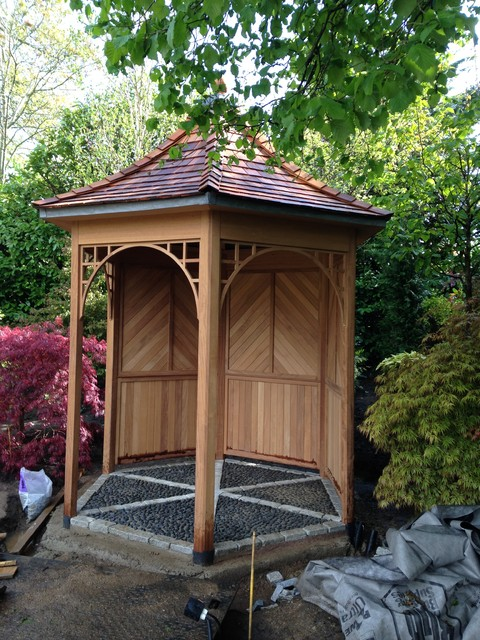 Summer house for Traditional garden buildings