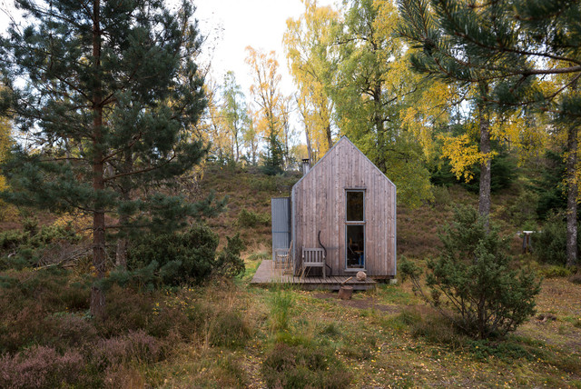 The Bothy Project Inshriach Rustic Garden Shed And