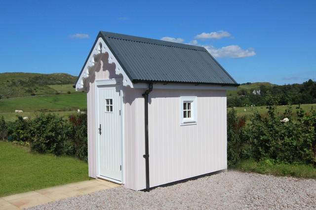 Two bedroom wee house shed for Two room garden shed