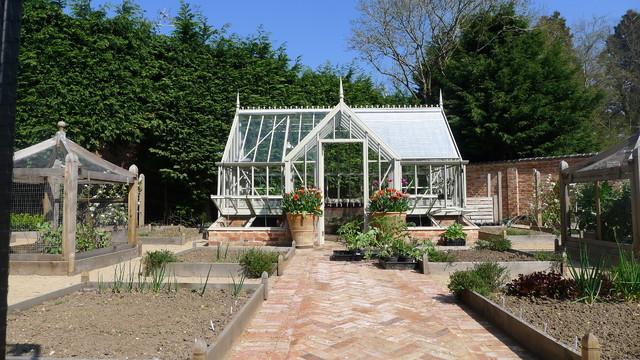 Victorian Walled Vegetable Garden Victorian Garden Shed And Building
