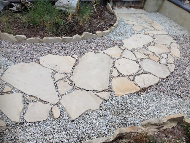 2014 beach style garden hobart by van diemens for Garden design hobart