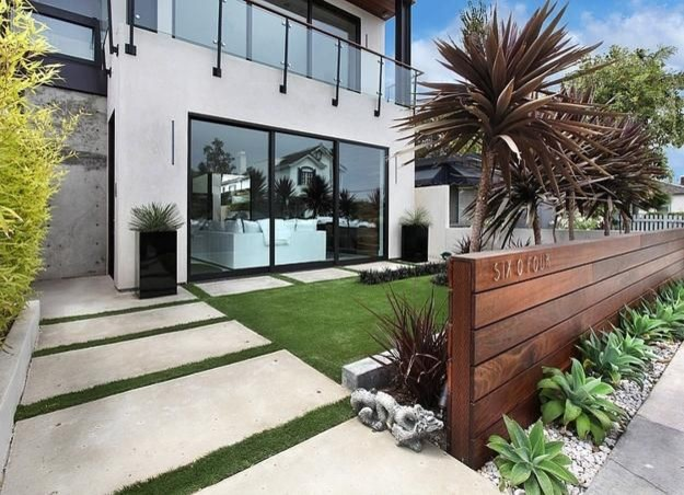 50 Modern Front Yard Designs Contemporary Garden Brisbane
