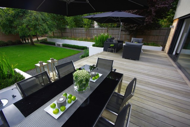 A Family Garden Can Still Look Sleek And Modern A Recent