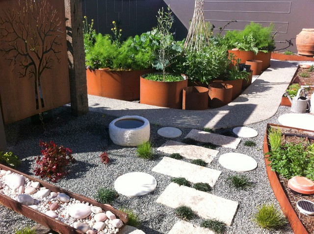 A Japanese Garden Contemporary Garden Perth By Sustainable