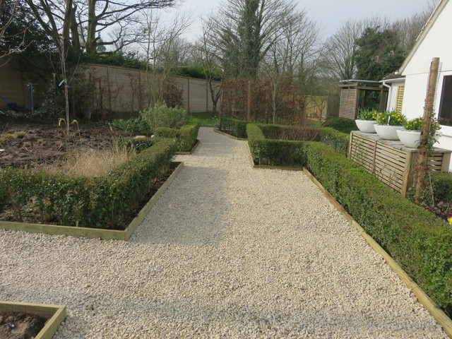 A working orchard canterbury kent contemporary for Canterbury landscape design