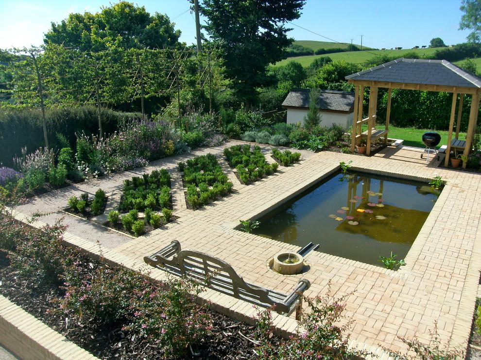 Alhambra styled garden - Mediterranean - Landscape - Devon ...