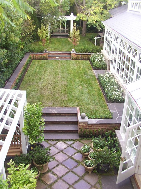 Andrew Renn Design, Beautiful gardens of Melbourne Australia traditional landscape