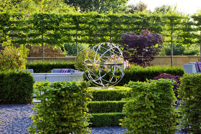 Armillary Sphere Traditional Landscape