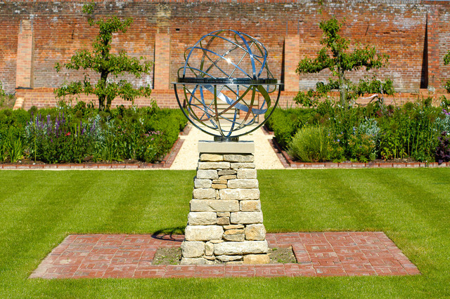 Armillary Sphere Sundial Traditional Landscape
