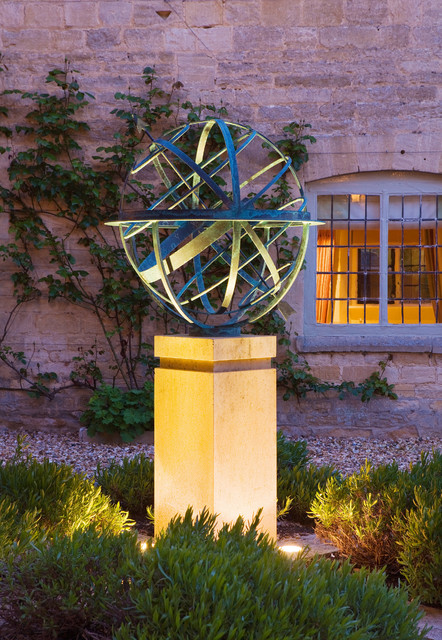 Armillary Sphere Sundial Contemporary Garden London by