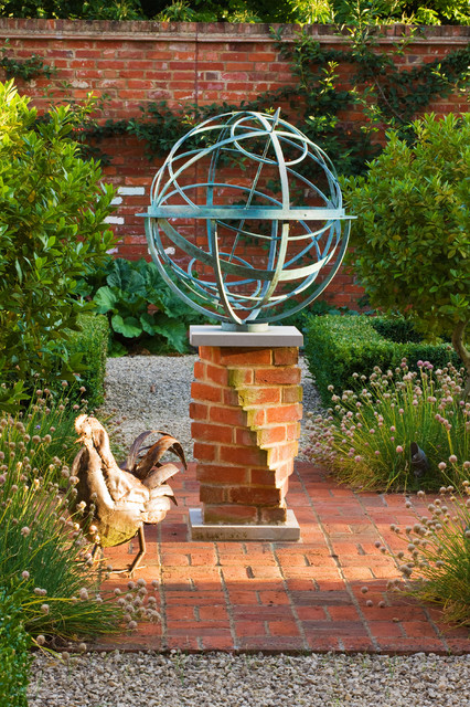 Armillary Sundial Eclectic Garden London by David Harber