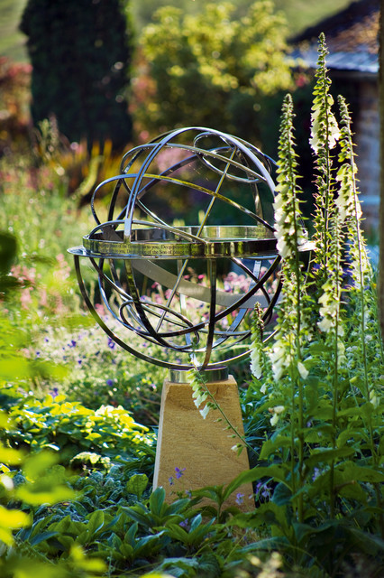 Sculptural Spheres Crazy Wonderful: Armillary Sundial