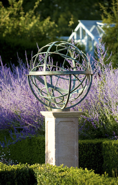 Armillary Sundial Traditional Garden Ideas