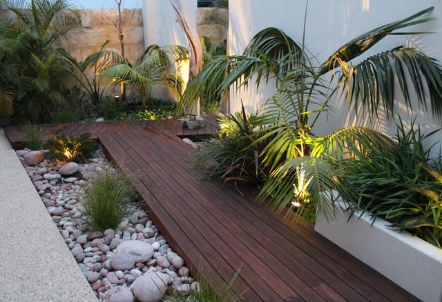 Ascher smith landscape designs tropical garden perth for Garden design perth