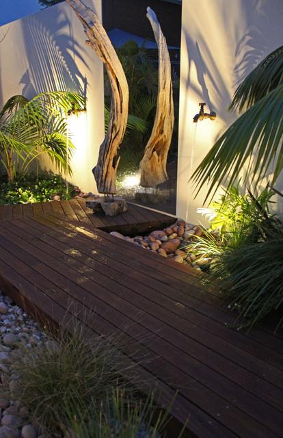 Ascher Smith Landscape Designs Tropical Landscape