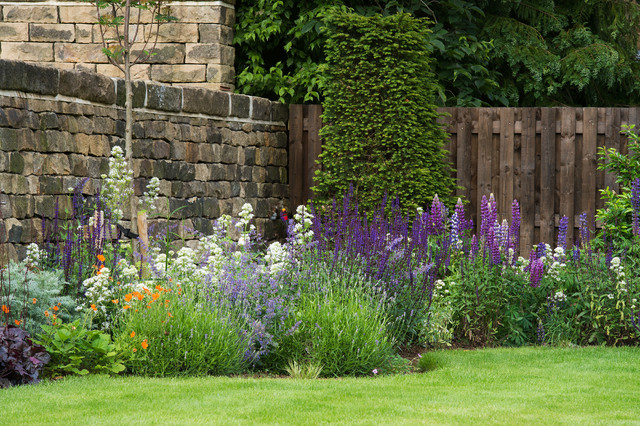 Back garden planting design ilkley yorkshire country garden other by melissa morton for Garden design yorkshire
