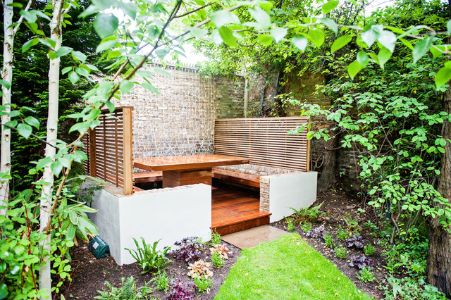 Banquette Dining Area Maida Vale: Designed And Constructed By The Garden  Builder Contemporary Garden