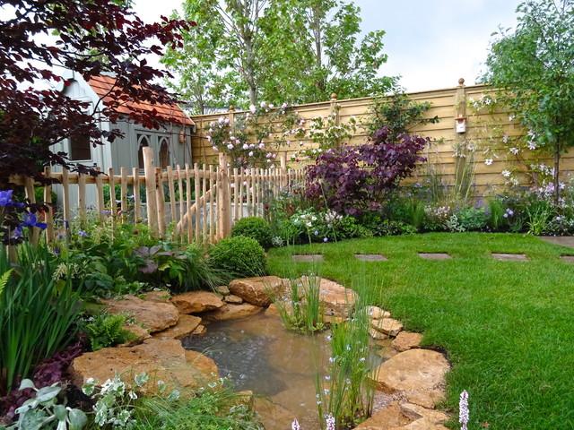20 Of The Best Small Garden Ponds Houzz Uk