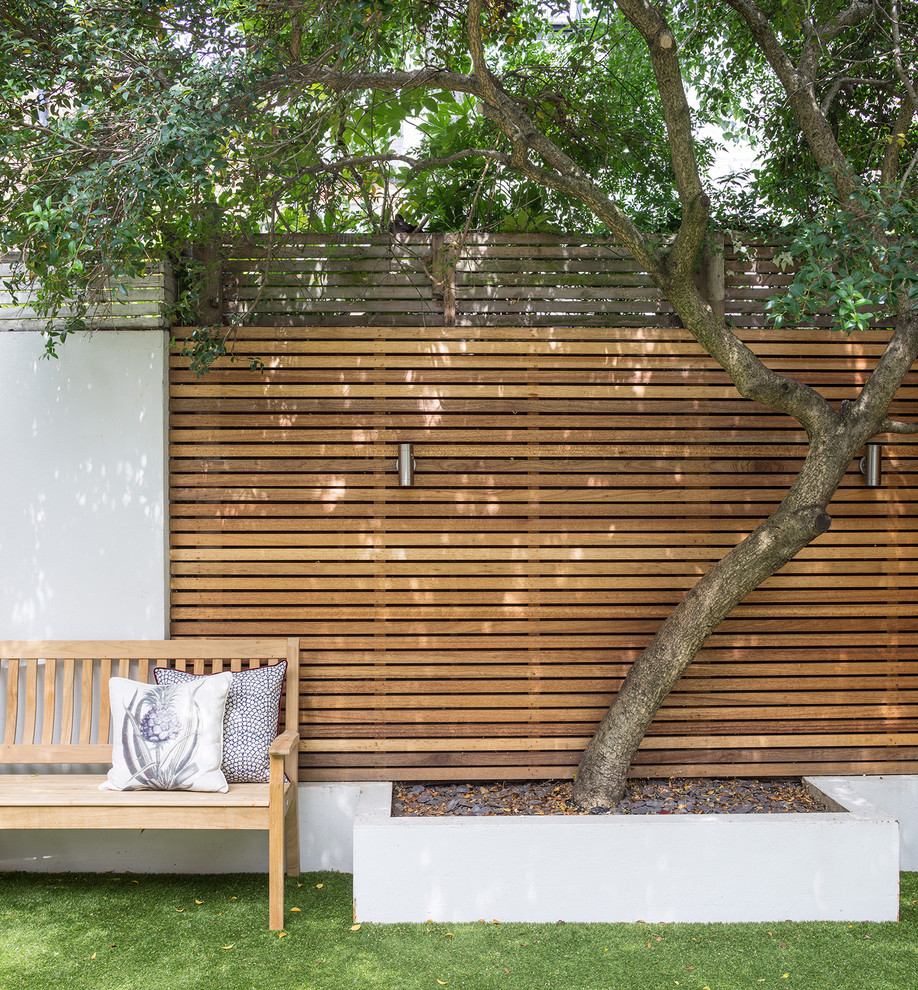 Design ideas for a modern landscaping in London.