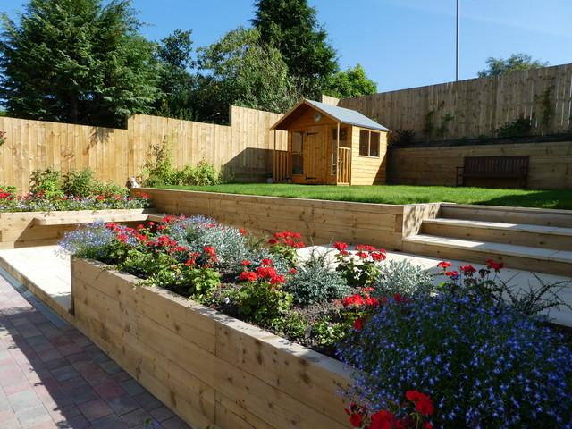 Garden Design Ideas Glasgow : Bi briggs garden re design