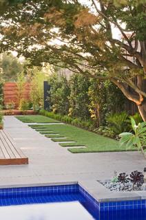 Contemporary Landscape Melbourne By Apex Landscapes amp Pools