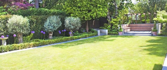 Bournemouth talbot woods mediterranean landscape for Garden design bournemouth