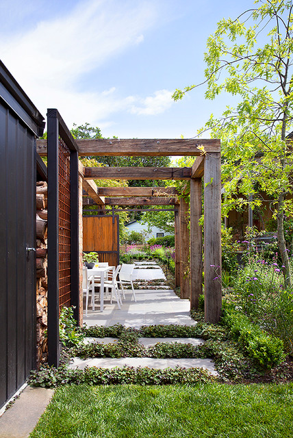 Box hill project contemporary garden melbourne by for Barker landscape architects