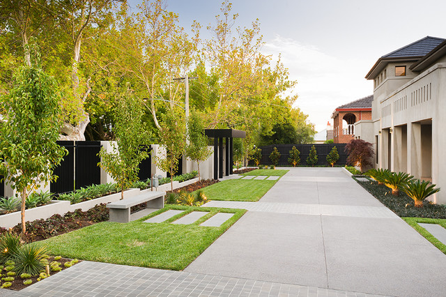Radnor Street - Contemporary - Garden - Melbourne - by C.O ...