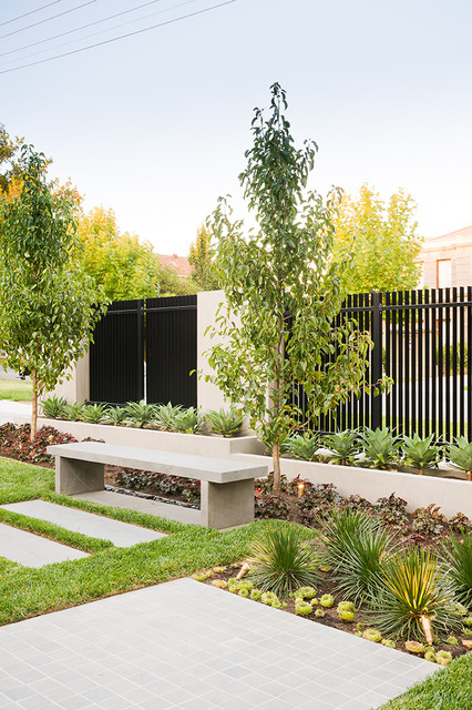 Radnor street contemporary landscape other metro for Landscape design melbourne