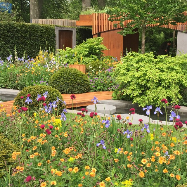 Chelsea flower show 2015 the homebase urban retreat for Garden trees homebase