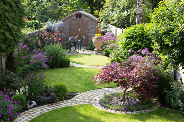 Circular Garden Traditional Landscape Part 36