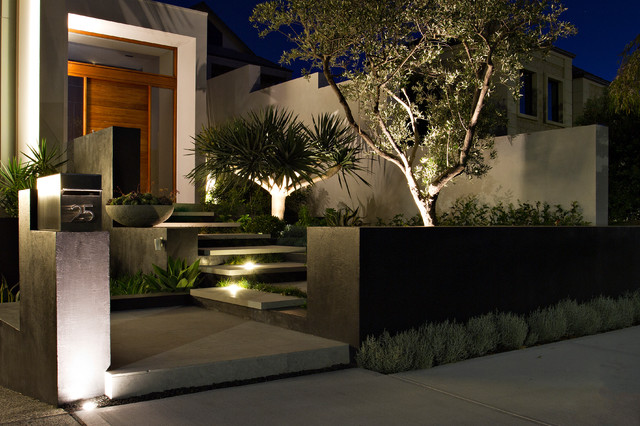 Pre summer backyard blitz week 5 update your outdoor lighting contemporary garden by tim davies landscaping perth aloadofball