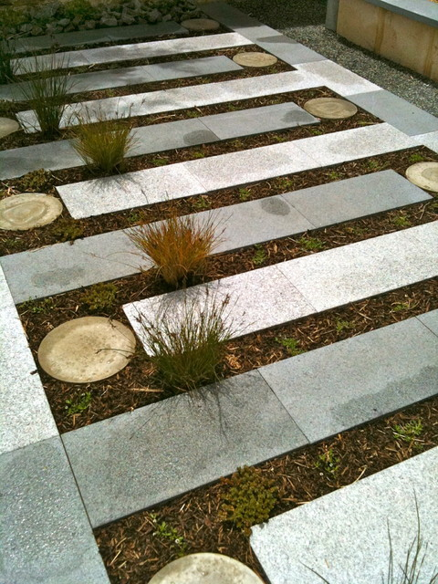 Eclectic  Landscape  perth  by sustainable garden design perth